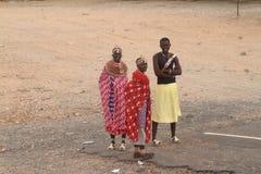 Παραδοσιακές γυναίκες Samburu στην Κένυα Στοκ φωτογραφίες με δικαίωμα ελεύθερης χρήσης