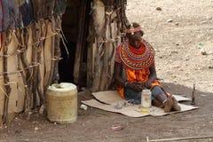 Παραδοσιακές γυναίκες Samburu στην Κένυα Στοκ Φωτογραφίες