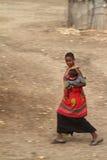 Παραδοσιακές γυναίκες Samburu στην Κένυα Στοκ Φωτογραφία