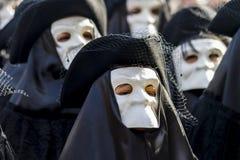 Παραδοσιακές ενετικές μάσκες καρναβαλιού Στοκ Φωτογραφία