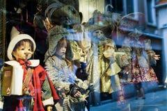 Παραδοσιακές μαριονέτες Στοκ εικόνες με δικαίωμα ελεύθερης χρήσης