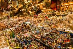 Παραδοσιακή αγορά Χριστουγέννων Στοκ φωτογραφία με δικαίωμα ελεύθερης χρήσης