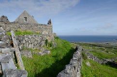 Παραδοσιακή αγροικία, inismeain, aran νησιά, Ιρλανδία Στοκ Εικόνα