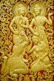 Παραδοσιακή λαοτιανή τέχνη γλυπτικής Στοκ εικόνες με δικαίωμα ελεύθερης χρήσης