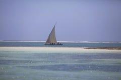 Παραδοσιακή αραβική αλιεία Dhow Μομπάσα Κένυα στοκ φωτογραφίες με δικαίωμα ελεύθερης χρήσης