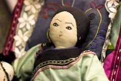Παραδοσιακή αρχική syberian κούκλα Θρησκευτική μαριονέτα σκοπού Sc στοκ εικόνες