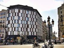 Παραδοσιακή αρχιτεκτονική της Βαρκελώνης, Ισπανία Στοκ φωτογραφίες με δικαίωμα ελεύθερης χρήσης