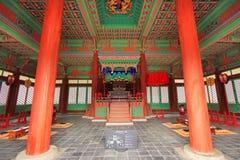 Παραδοσιακή αρχιτεκτονική της Κορέας – Gyeongheuigung Στοκ φωτογραφία με δικαίωμα ελεύθερης χρήσης
