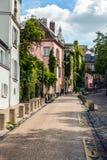 Παραδοσιακή αρχιτεκτονική των κατοικημένων κτηρίων Γαλλία Παρίσι Στοκ φωτογραφία με δικαίωμα ελεύθερης χρήσης