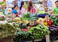 Παραδοσιακή ασιατική αγορά Στοκ Φωτογραφίες