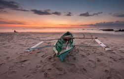 Παραδοσιακή βάρκα Rungus Sabah Στοκ Εικόνες