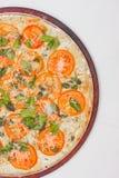 Παραδοσιακή βραζιλιάνα πίτσα Marguerita Στοκ Εικόνες