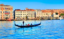Παραδοσιακή γόνδολα, Βενετία Στοκ Εικόνες