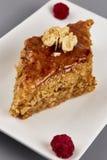 Παραδοσιακή γλυκιά έρημος Baklav Στοκ εικόνα με δικαίωμα ελεύθερης χρήσης
