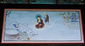 Παραδοσιακή εικόνα της Κορέας στοκ εικόνες