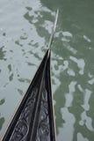 Παραδοσιακή ενετική γόνδολα  Βενετία Στοκ φωτογραφία με δικαίωμα ελεύθερης χρήσης
