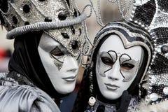 Παραδοσιακή ενετική μάσκα καρναβαλιού Στοκ εικόνες με δικαίωμα ελεύθερης χρήσης