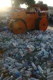 Παραδοσιακή εξολόθρευση ποτού στην Ινδονησία Στοκ εικόνα με δικαίωμα ελεύθερης χρήσης
