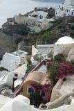 Παραδοσιακή Ελλάδα architecutre oia στο νησί santorini Στοκ εικόνες με δικαίωμα ελεύθερης χρήσης