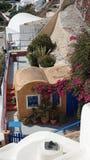 Παραδοσιακή Ελλάδα architecutre oia στο νησί santorini Στοκ φωτογραφίες με δικαίωμα ελεύθερης χρήσης