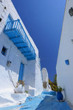Παραδοσιακή ελληνική του χωριού άποψη στοκ εικόνες με δικαίωμα ελεύθερης χρήσης