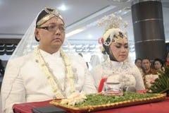 Παραδοσιακή Ιάβα γαμήλιας δύσης Στοκ Φωτογραφία
