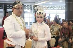 Παραδοσιακή Ιάβα γαμήλιας δύσης Στοκ φωτογραφίες με δικαίωμα ελεύθερης χρήσης