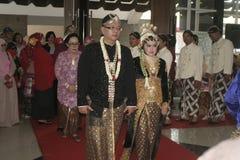 Παραδοσιακή Ιάβα γαμήλιας δύσης Στοκ Εικόνες