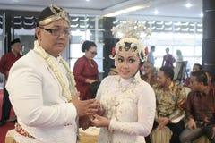 Παραδοσιακή Ιάβα γαμήλιας δύσης Στοκ φωτογραφία με δικαίωμα ελεύθερης χρήσης