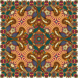 Παραδοσιακή διακοσμητική floral κορδέλα του Paisley Στοκ φωτογραφία με δικαίωμα ελεύθερης χρήσης