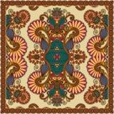 Παραδοσιακή διακοσμητική floral κορδέλα του Paisley Στοκ Εικόνες