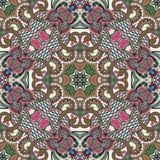 Παραδοσιακή διακοσμητική floral κορδέλα του Paisley Στοκ Εικόνα