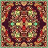 Παραδοσιακή διακοσμητική floral κορδέλα του Paisley Στοκ φωτογραφίες με δικαίωμα ελεύθερης χρήσης