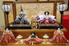 Παραδοσιακή ιαπωνική κούκλα Στοκ Εικόνες