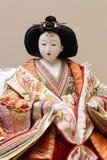Παραδοσιακή ιαπωνική κούκλα Στοκ εικόνα με δικαίωμα ελεύθερης χρήσης