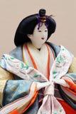Παραδοσιακή ιαπωνική κούκλα Στοκ φωτογραφία με δικαίωμα ελεύθερης χρήσης