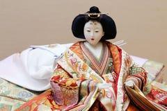Παραδοσιακή ιαπωνική κούκλα Στοκ Φωτογραφίες