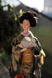 Παραδοσιακή ιαπωνική κούκλα Στοκ εικόνες με δικαίωμα ελεύθερης χρήσης