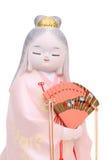 Παραδοσιακή ιαπωνική κούκλα Hakata Στοκ φωτογραφία με δικαίωμα ελεύθερης χρήσης