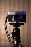 Παραδοσιακή κάμερα Στοκ Φωτογραφίες