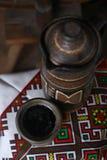 Παραδοσιακή κανάτα του κρασιού Στοκ Εικόνες