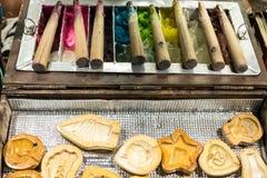 Παραδοσιακή καραμέλα για τα παιδιά Στοκ εικόνα με δικαίωμα ελεύθερης χρήσης