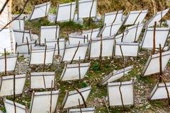 Παραδοσιακή κατασκευή εγγράφου Στοκ φωτογραφία με δικαίωμα ελεύθερης χρήσης