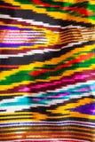 Παραδοσιακή κεντρική ασιατική διακόσμηση του υφάσματος Στοκ εικόνες με δικαίωμα ελεύθερης χρήσης