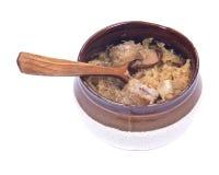 Παραδοσιακή ξινή σούπα λάχανων στοκ φωτογραφίες με δικαίωμα ελεύθερης χρήσης