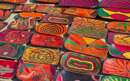 Παραδοσιακή ξύλινη γλυπτική Στοκ φωτογραφίες με δικαίωμα ελεύθερης χρήσης