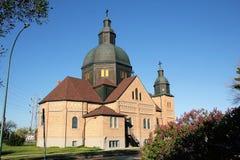 Παραδοσιακή ουκρανική καθολική εκκλησία στοκ εικόνα