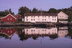 Παραδοσιακή παράκτια κοινότητα Στοκ φωτογραφία με δικαίωμα ελεύθερης χρήσης