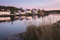 Παραδοσιακή παράκτια κοινότητα Στοκ Φωτογραφία