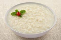 Παραδοσιακή πουτίγκα ρυζιού για το πρόγευμα Στοκ Φωτογραφίες